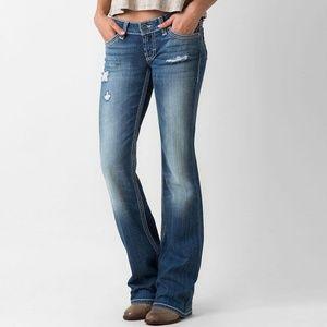 B2G1 BKE Starlite Medium Wash Boot Stretch Jeans